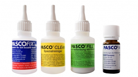 PASCO 4er Messe Set 50g